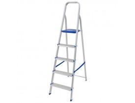 Escada Mor Doméstica de Alumínio 5 Degraus