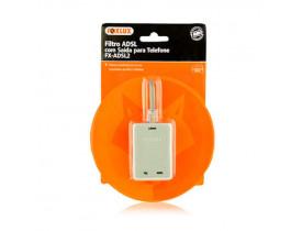 Filtro ADSL Com Saída Para Telefone Foxlux