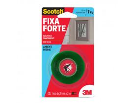 Fita Dupla Face Fixa Forte Fixação Extrema 24mm X 2 metros Scotch 3M