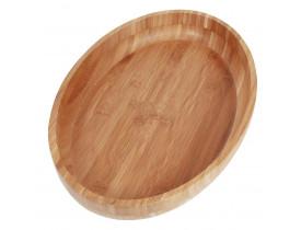 Gamela Oval Bamboo 27x41cm Mor