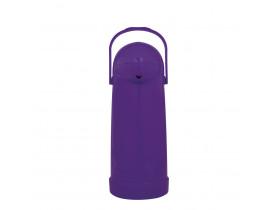 Garrafa Térmica de Pressão Nobile 1,0 litro  Amora 12X32cm Mor