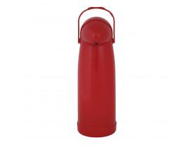 Garrafa Térmica de Pressão Nobile 1,9 litros Vermelha 14X40cm Mor