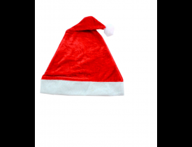 Gorro do Papai Noel de Veludo 30x40cm D&A