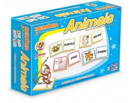 Jogo de Memória Junges Inglês - Animais