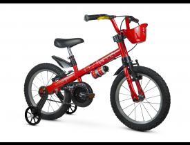 Bicicleta Infantil Lady Nathor Aro 16 Vermelha