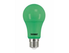 Lâmpada de Led Bulbo 5w TKL Colors Verde Taschibra