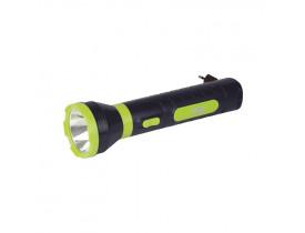 Lanterna Power Led 140 Lumens Recarregável Mor 6,5x6,5x23,5cm 009182