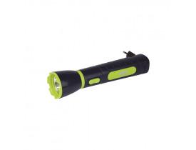 Lanterna Power Led 65 Lumens Recarregável Mor 5x5x21cm 009181
