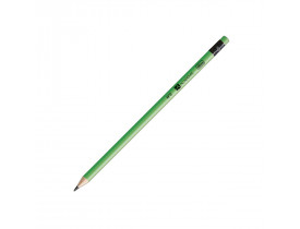 Lápis Preto Redondo com Borracha N2 Neon Tilibra Cor Sortida