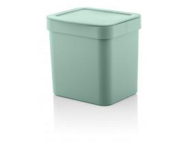 Lixeira Trium 2,5 litros Verde Menta 15X17X17cm Ou Martiplast