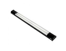 Luminária Led Lumifácil Preto 2X20 5W 6500K Luz Fria Autovolt Taschibra