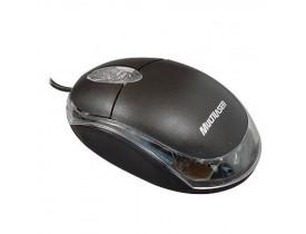 Mouse Multilaser Óptico Classic Com Fio