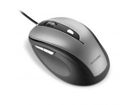 Mouse Comfort 6 Botões com Fio USB 1600dpi Multilaser