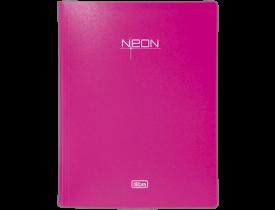 Pasta Catálogo A4 Neon Rosa Tilibra