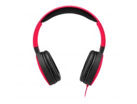 Headphone Dobrável New Fun P2 Vermelho Multilaser