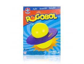 Brinquedo Pogobol Roxo e Verde Estrela