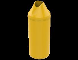 Porta Garrafa 1 litro Amarelo Soprano