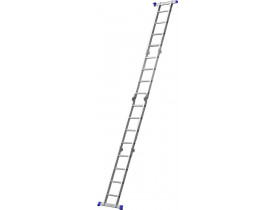 Escada Mor Multifuncional de Alumínio 4x4 16 Degraus