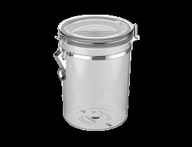 Pote Hermético 1,6L Transparente Soprano