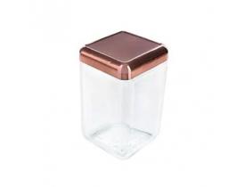 Pote Vidro Tendenza 1,3 litros Invicta Cores Sortidas French Gold/Bronze