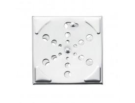 Grelha Caixa Sif 10x10cm sem Caixa Inox Primafer