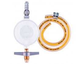 Regulador para Gás com Mangueira 80cm Aliança