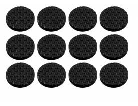 Protetor Anti Risco Redondo com Adesivo com 12 unidades Ordene
