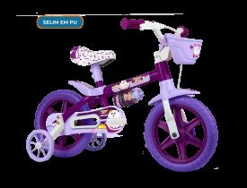 Bicicleta Infantil Aro 12 Puppy Nathor
