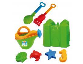 Kit Castelo com Regador Beach Play Usual Brinquedos