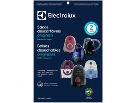 Saco Descartável para Aspirador de Pó SBEON com 3 unidades Electrolux
