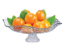 Saladeira e Fruteira com Pé Ruvolo