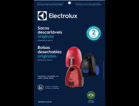 Saco para Aspirador de Pó 3 unidades Descartável SBENA Electrolux