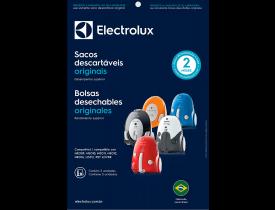 Saco para Aspirador de Pó 3 unidades Descartável SBENE Electrolux