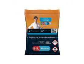 Tricloro Tablete Estabilizado 200g Bel Piscinas