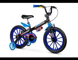 Bicicleta Infantil Tech Boy Nathor Aro 16 Azul