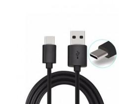 Cabo de Carga e Dados Carregador Micro USB 1 metro preto MXT