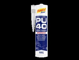 Selante de Poliuretano PU40 Branco 400g Mundial Prime